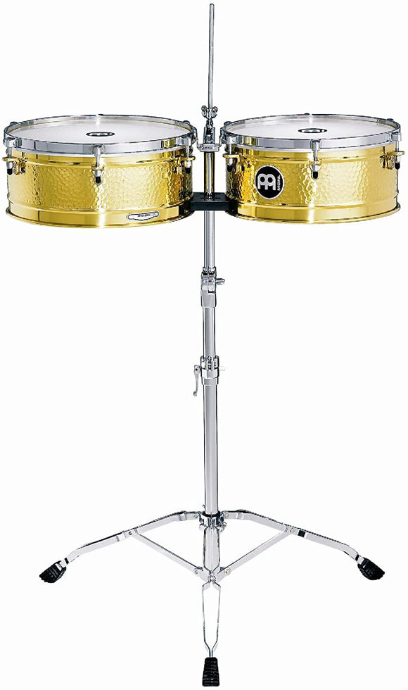 Meinl Percussion (LC1BRASS) Artist Series Luis Conte Signature Solid Brass 14