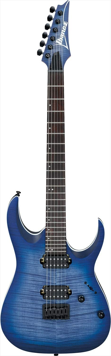 Ibanez RGA42FM Electric Guitar (Blue Lagoon Burst Flat)
