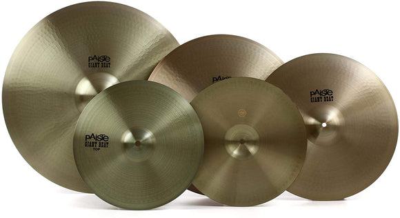 Paiste Giant Beat Cymbal Pack with Free 18