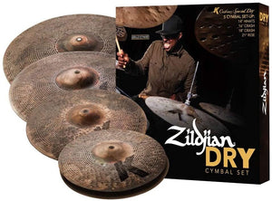 "Zildjian K Custom Cymbal Pack, 14"" pair, 16"", 18"", 21"""