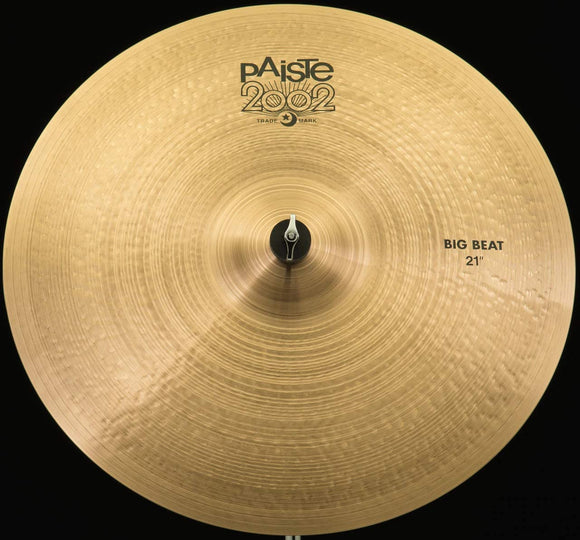 Paiste 2002 Black Big Beat Crash/Ride 21