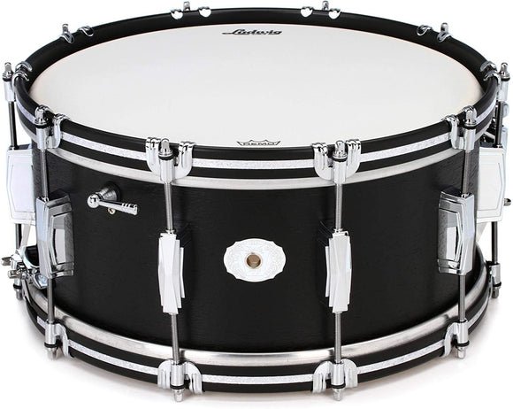 Ludwig Legacy Classic Mahogany Snare Drum - 6.5 x 14 inch - Black Cat