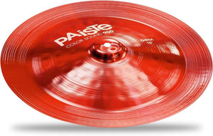 "Paiste Colorsound 900 China 18"" - Red"