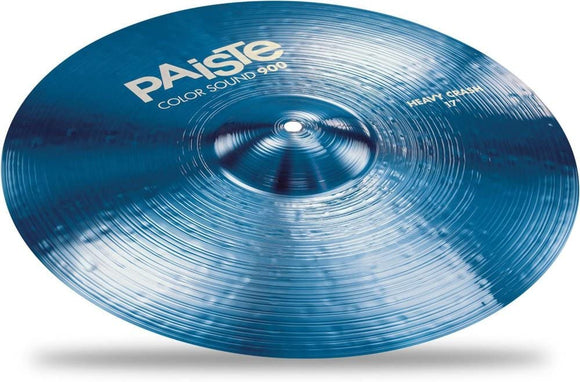 Paiste Colorsound 900 Heavy Crash Cymbal Blue 17 in.