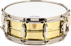 "Ludwig Super Brass 5"" X 14"" Snare Drum"