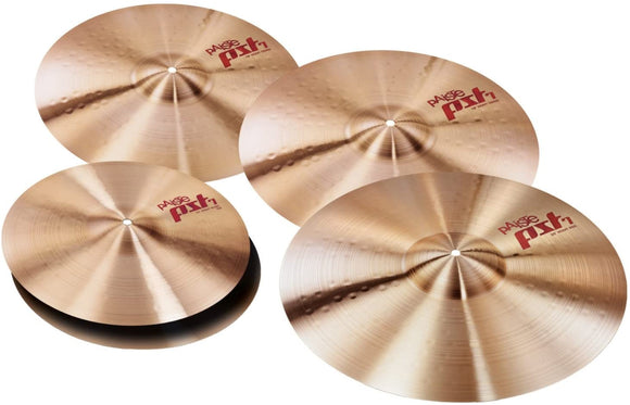 Paiste PST 7 Rock Cymbal Set - with FREE 16