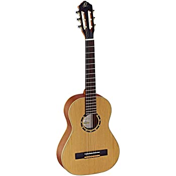 Ortega Family Series 1/2 Size Classical Guitar Satin Natural 0.5