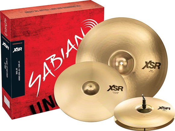 Sabian XSR Performance Cymbal Set 14