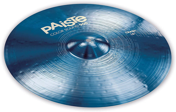 Paiste Colorsound 900 Crash Cymbal Blue 16 in.