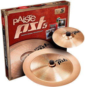 "Paiste PST5 Series Effects Cymbal Pack - 10""/18"""