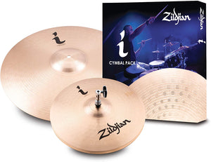 "Zildjian I Family Essentials Cymbal Pack, 14"" pair, 18"" (ILHESS)"