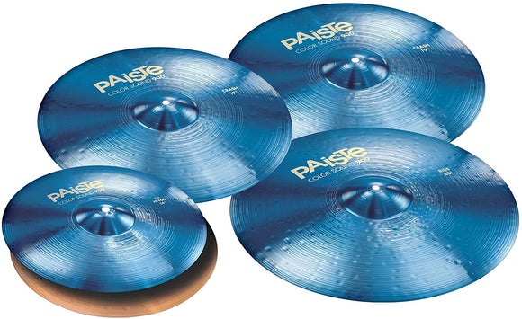 Paiste Color Sound 900 Series Medium Cymbal Set Extended Odd w/Free 17