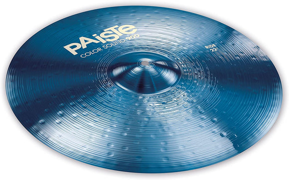 Paiste Colorsound 900 Ride Cymbal Blue 22 in.