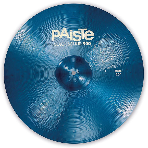 Paiste Colorsound 900 Ride Cymbal Blue 20 in.
