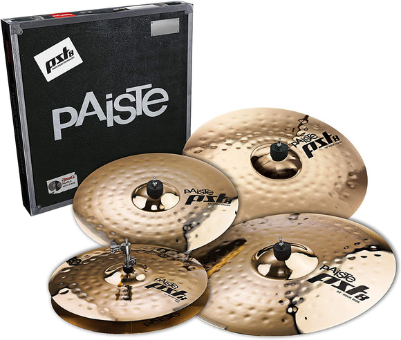 Paiste PST 8 Reflector Rock Cymbal Set (14