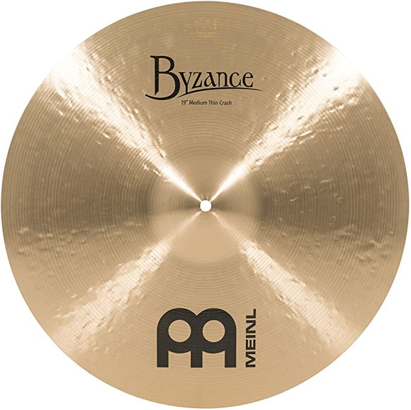 Meinl Byzance Traditional Medium Thin Crash 19