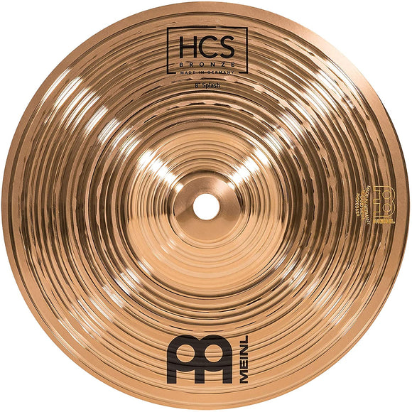 "Meinl HCS Traditional 8"" Splash – Bronze (HCSB8S)"