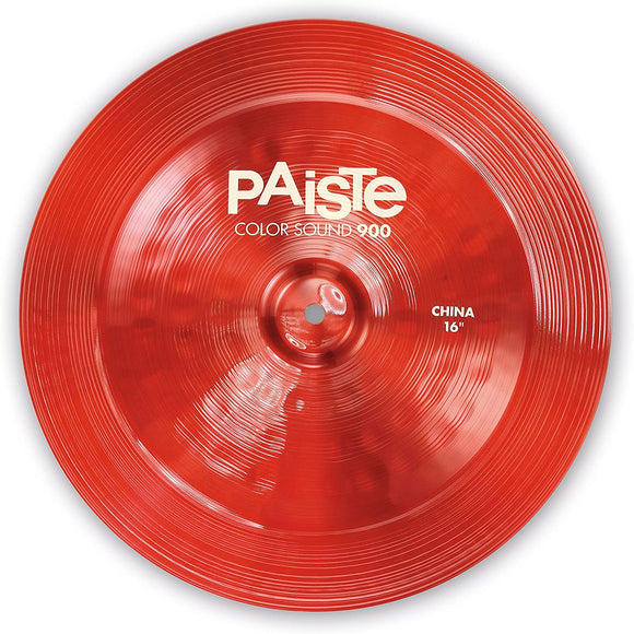 Paiste Colorsound 900 China Cymbal Red 16 in.