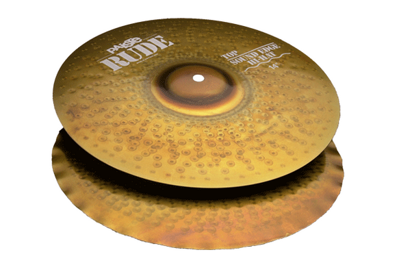 Paiste RUDE Sound Edge Hi-Hat 14