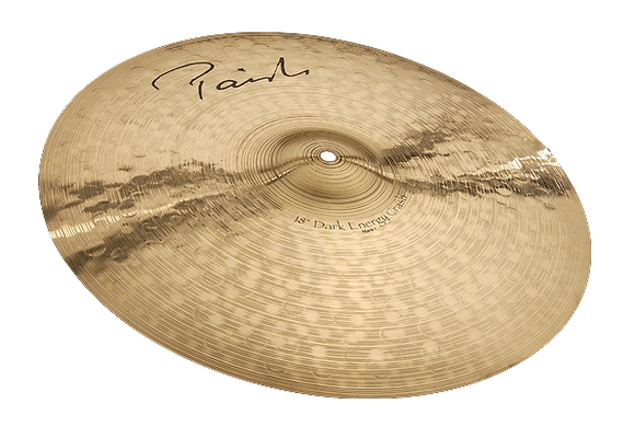 Paiste Signature Dark Energy Crash Mark I 17