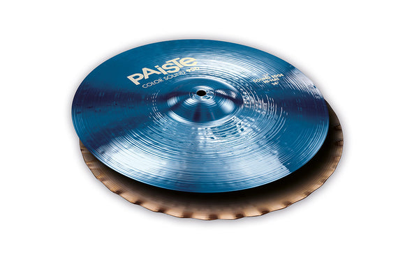 Paiste 900 Series Color Sound Blue Sound Edge Hi Hat Pair 14