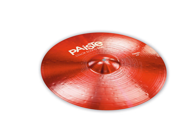 Paiste 900 Series Color Sound Red Crash 19