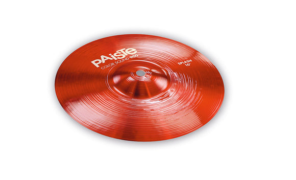 Paiste 900 Series Color Sound Red Splash 10