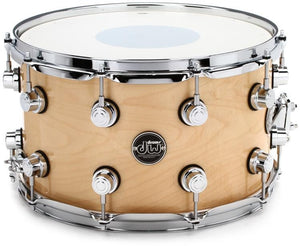 "DW Performance Series Snare Drum - 8"" x 14"" Natural Lacquer"