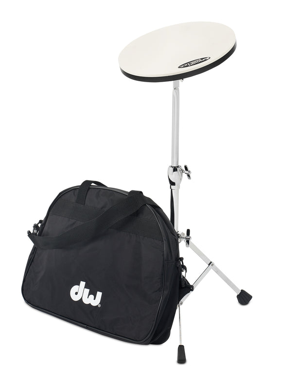 DW Practice Pad With Stand and Bag
