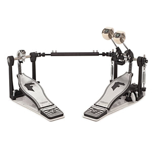 SJC Foundation X Series Double Bass Drum Pedal with Double Chain Cam and Bag