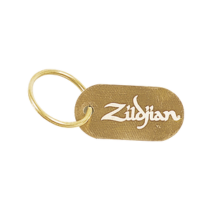 ZILDJIAN DOG TAG KEY CHAIN Z-GEAR