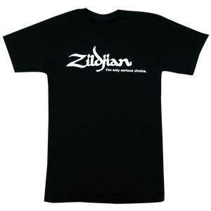 ZILDJIAN CLASSIC TEE BLACK - MEDIUM Z-GEAR