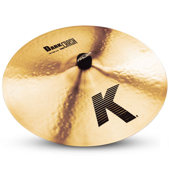 Zildjian K Dark Thin Crash Cymbal 18