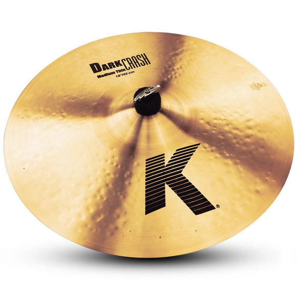 Zildjian K Dark Medium Thin Crash Cymbal 18