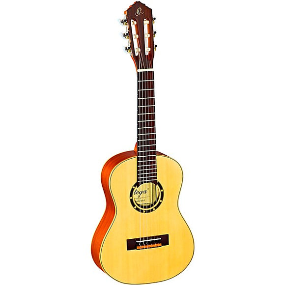 Ortega Family Series R121-1/4 1/4 Size Classical Guitar Satin Natural 0.25