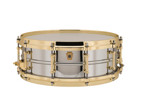 Ludwig Black Beauty Brass Snare Drum with Tube Lugs - 14x5