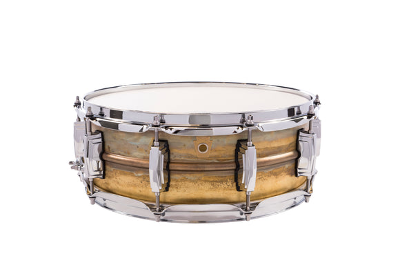 Ludwig Raw Brass Snare Drum - 5
