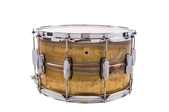 Ludwig Raw Brass Snare Drum - 8