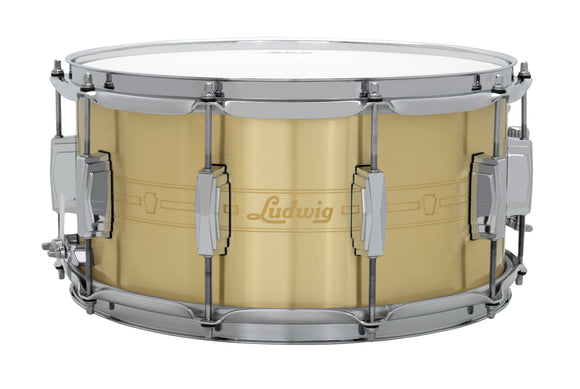 Ludwig Heirloom Series Brass Snare Drum - 7