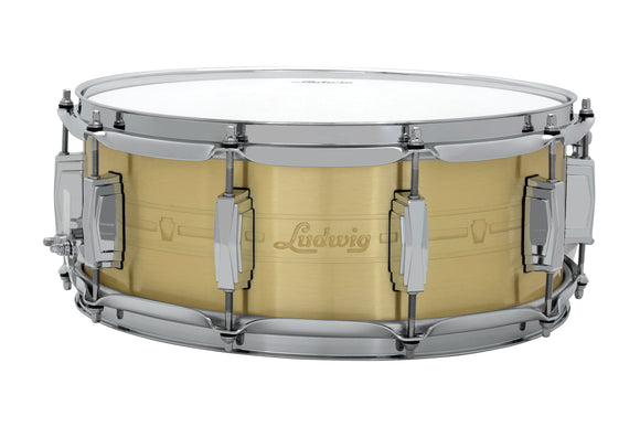 Ludwig Heirloom Series Brass Snare Drum - 5.5