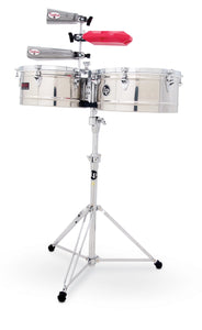 "LP Prestige Series 13"" and 14"" Timbales SS"
