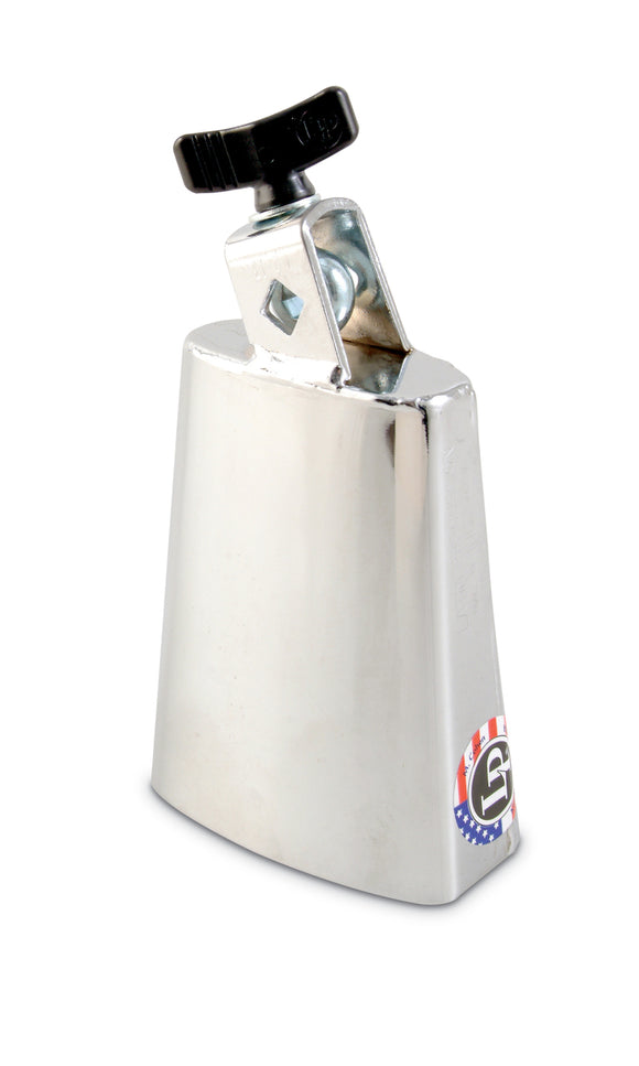 Latin Percussion LP204B Deluxe Black Beauty Cowbell - Chrome