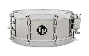 "Latin Percussion LP4512-S 4 1/5"" x 12"" Stainless Steel Salsa Snare LP4512-S"