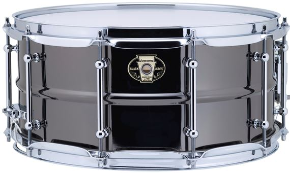 Ludwig Black Magic Chrome Hardware 6.5