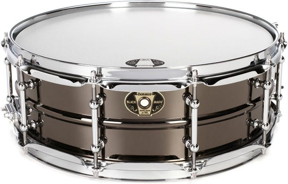 Ludwig Black Magic Snare Drum - 5.5