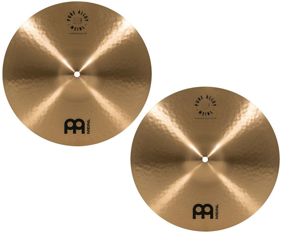 Meinl Pure Alloy Traditional Hi Hat Pair 14