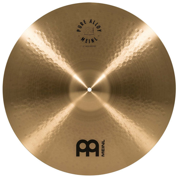Meinl Pure Alloy Traditional Medium Ride 22