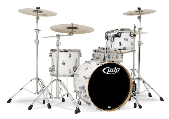 PDP Concept Series 4-Piece Maple Shell Pack, Pearlescent White