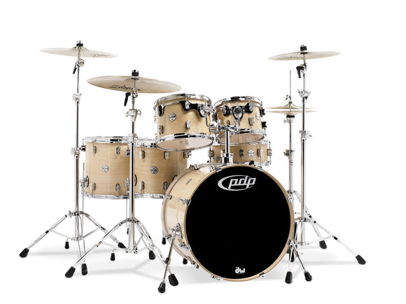 PDP Concept Series 6-Piece Maple Shell Pack, Natural