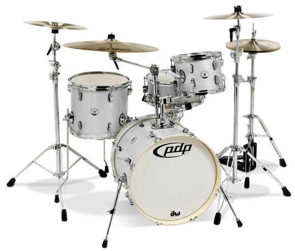 PDP New Yorker 4 Piece Drum Set Shell Pack